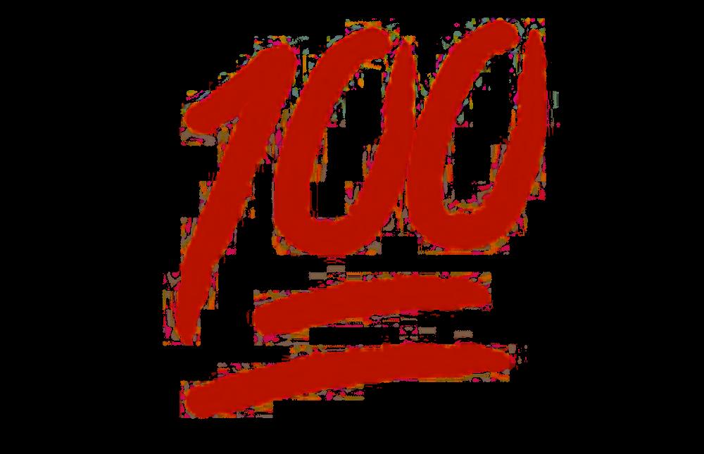 emoji-transparent-background-for 100 - Bark
