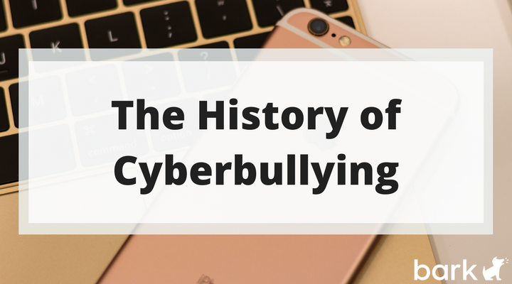 the history of cyberbullying