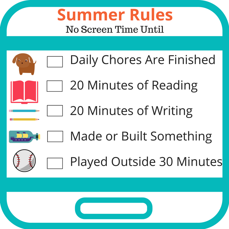 picture regarding Screen Time Rules Printable titled Summer time Legal guidelines for Social Media - Bark