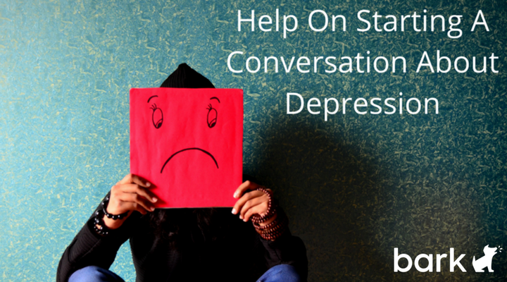 starting a conversation about depression
