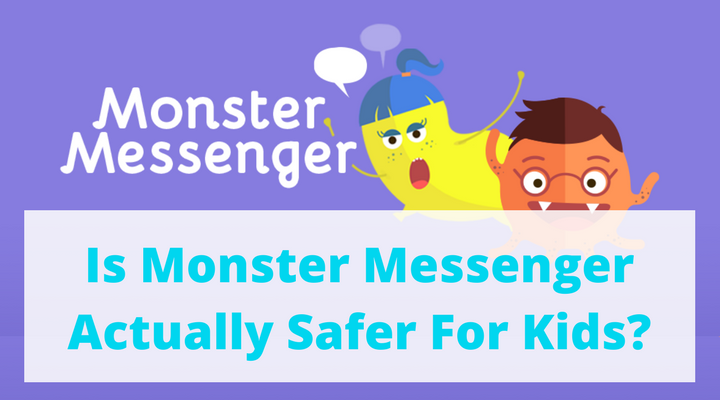 Monster Messenger for Kids