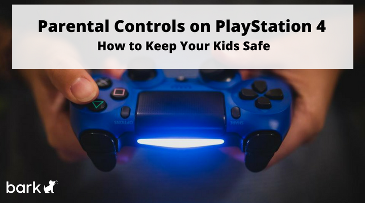 PS4 - how to keep your child safe
