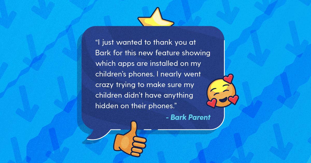 parent testimonial