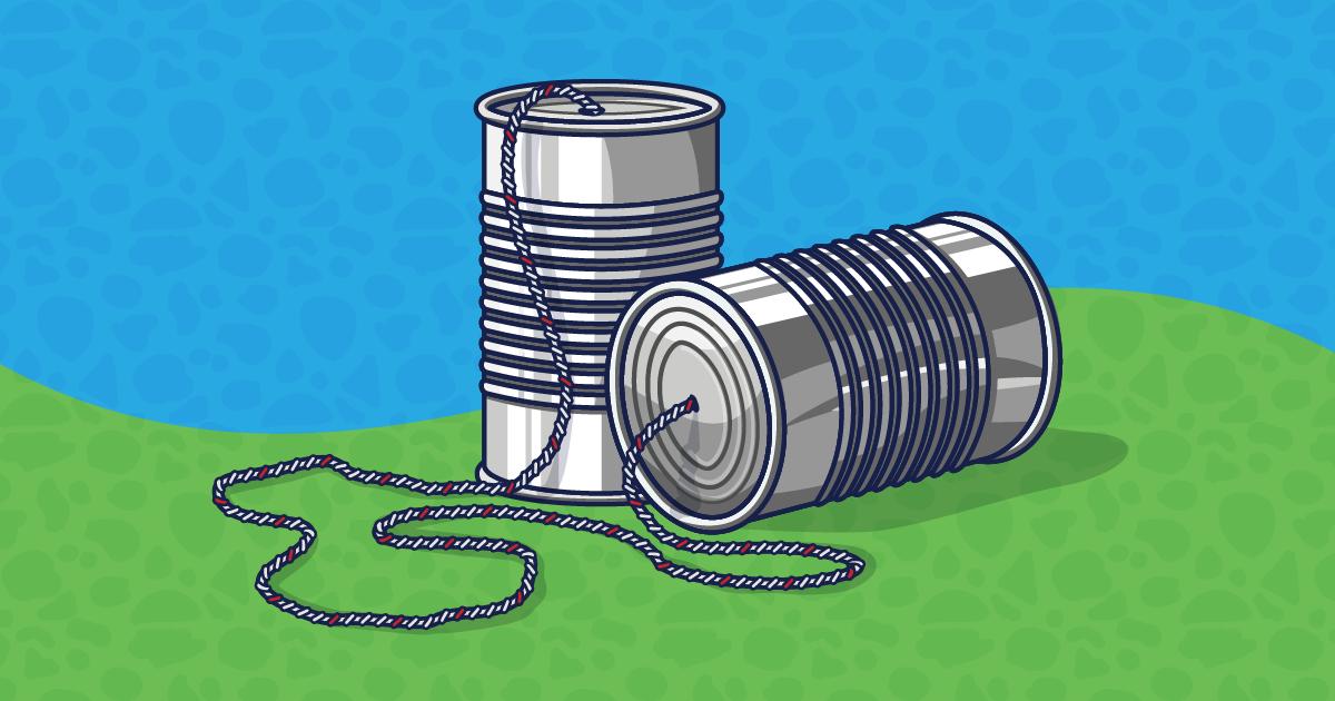 tin can phones