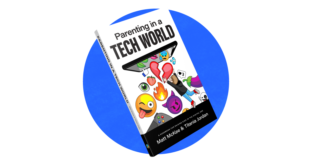 The book cover of Parenting in a Tech World